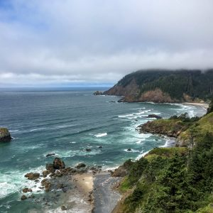 Indian Beach, from Indian Beach Trail, Ecola State Park