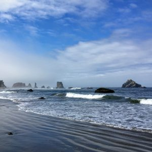 Bandon Beach Rocks, Oregon