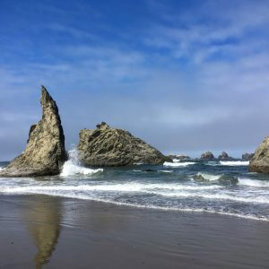 Bandon Beach Rocks, Oregon