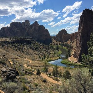 Smith Rock State Park, River Trail