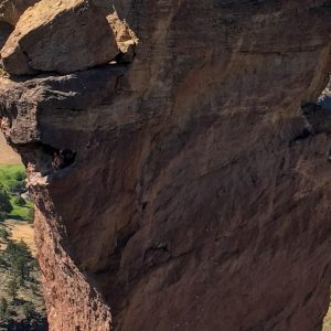 Climbers in Smith Rock State Park