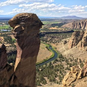 Climbing in Smith Rock State Park