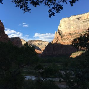 Zion National Sunset
